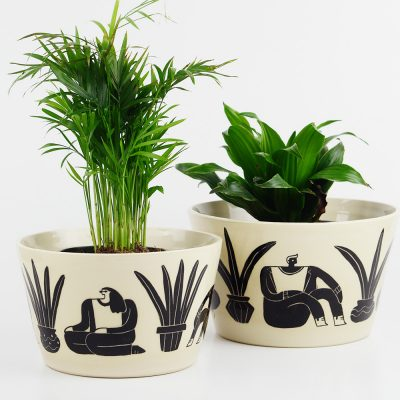 Large Planter – Women and plants