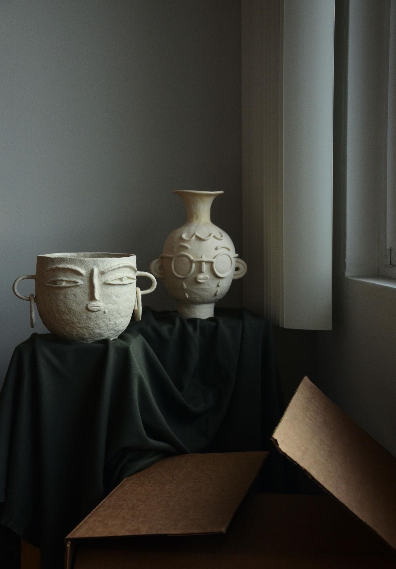 Ceramic vases photography
