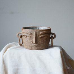 Gia ceramic vase head