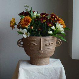 Isabelle ceramic vase head
