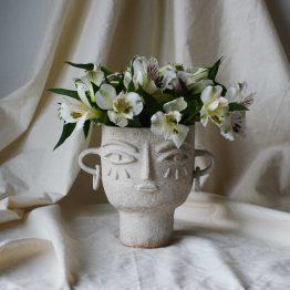 Julia ceramic vase head
