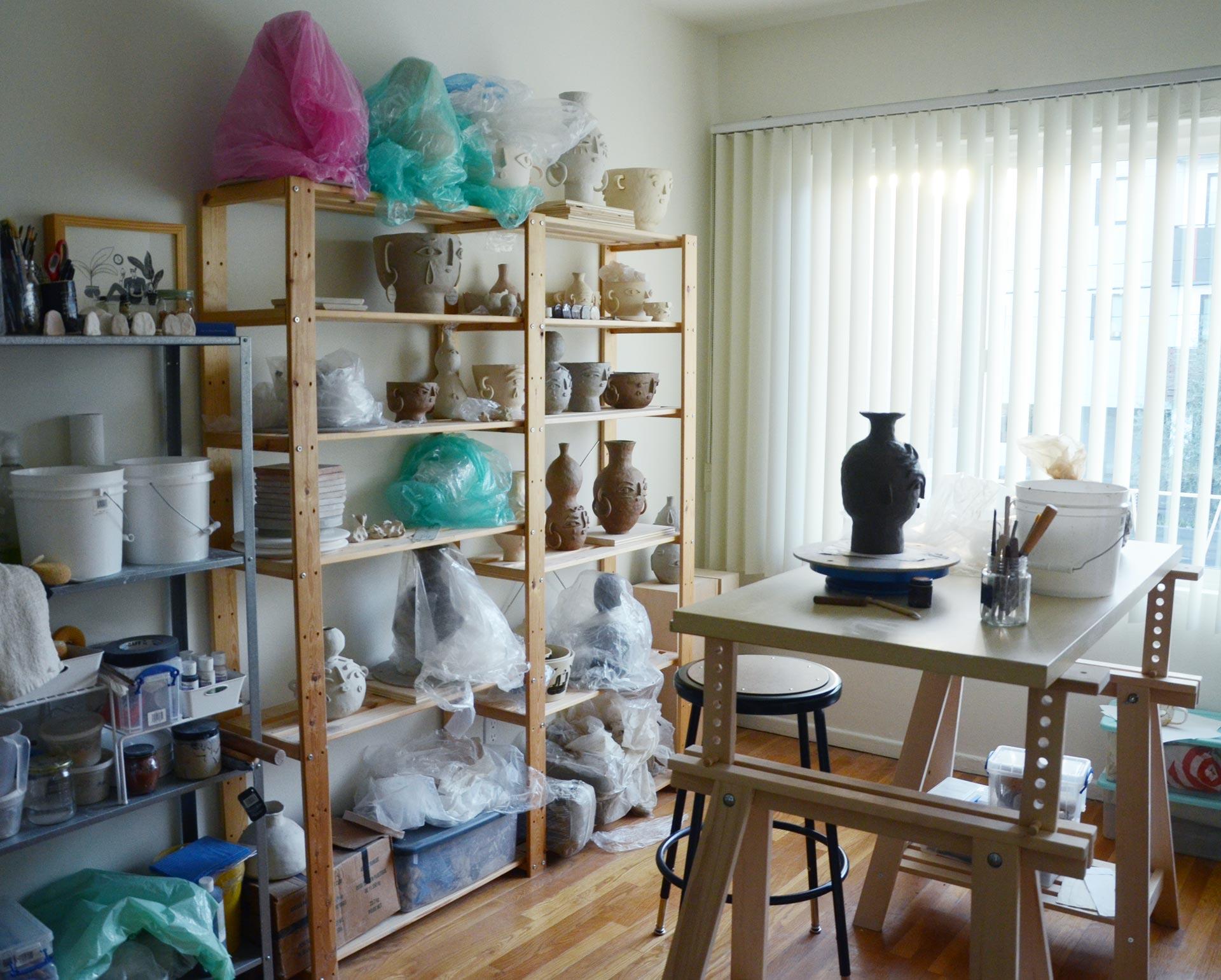 Miri Orenstein ceramic studio