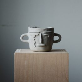 Gia ceramic face by Miri Orenstein cover